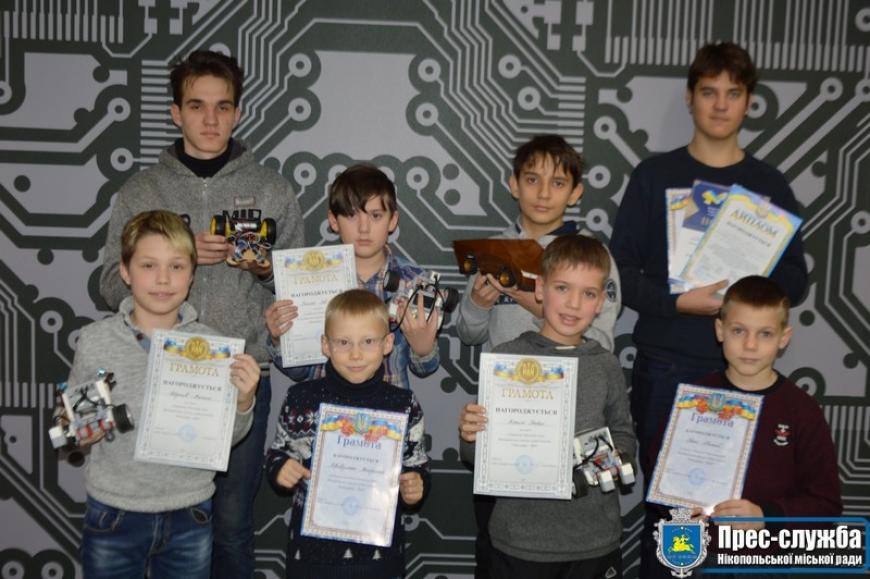Роботи із Нікополя були визнані вартими уваги в області! Юні винахідники отримали нагороди